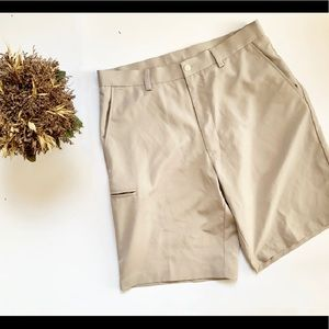 Mens Grand Slam Golf Khaki Shorts - Sz 32 ⛳️
